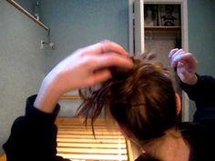 how to do a messy bun!