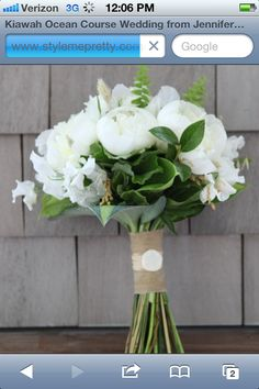 Pinterest Bridal Bouquets | Pinned by Jessica Hughes  I love this for the beach