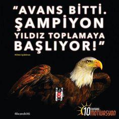 Şampiyona yakışır 10 Numara Motivasyon Kartlarının ilki; 'Avans bitti.Şampiyon yıldız toplamaya başlıyor!' ☺️⚽️✨  https://10numaramotivasyon.com/avans-bitti/ #Avansbitti #ŞerefiyleHakkıyla #ŞampiyonBeşiktaş #Beşiktaş #Şampiyon #KaraKartal #Gururlan #Başarı #BeşiktaşoForza