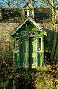Abandoned house. Inverness, Scotland.