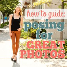 How To Pose In Pictures To Look Great Some people are just naturals when it comes to taking great photos, while others feel awkward and unsure. Read on to find out how to pose in pictures