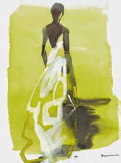 Bil Donovan illustration | Rosie Assoulin Spring 2015 - The Cut