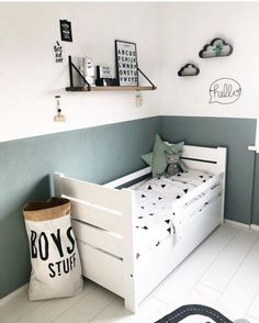 – Babyzimmer Deko & Ideen & DIY Gab Farb… Gave paint panels! – Baby room decoration & ideas & DIY room Gave paint panels! Baby Room Boy, Boy Toddler Bedroom, Toddler Room Decor, Big Boy Bedrooms, Boys Bedroom Decor, Toddler Rooms, Baby Bedroom, Childrens Rooms, Ideas For Boys Bedrooms