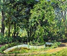 Park Landscape In The Palatinate - Max Slevogt