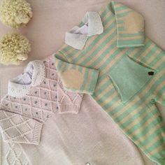 Saída de maternidade para meninos e meninas e tricot na Maison Baby.