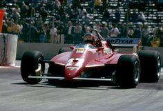F1 Pictures, Gilles Villeneuve Ferrari 1982