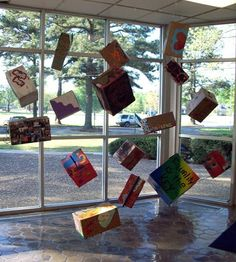 Altered Box Installation - Conway High School Art Project