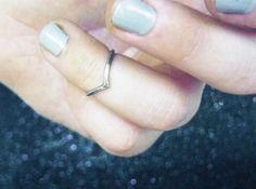 Upper Finger Ring. $18.00, via Etsy.