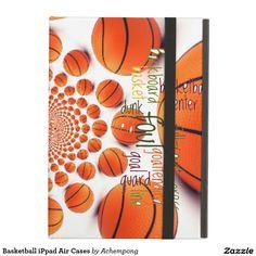 #Caisses d'air d'iPpad de #basket #ball #Électronique  #Coques #Coques #iPad   #iPadAir > #Powis