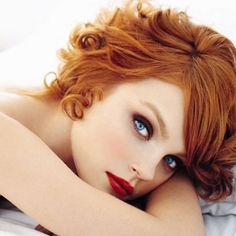 Lovely red head