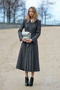 { sometimes it's about the coat }