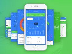 Blue Sky UI Kit - http://pivle.com/downloads/blue-sky-ui-kit/