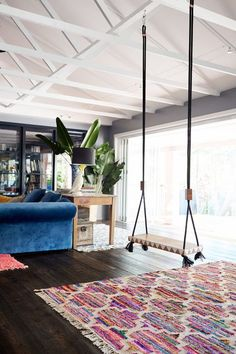 Swing in the house?! Yes please!