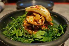 Haloumi, Caramelised Fennel and fresh herb salad @ Souvla, a new Greek restaurant in Hong Kong