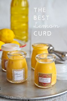 Lemon Curd - Another recipe recommends to cream the butter and sugar, then add the eggs...before heating. And I would always add citrus zest!