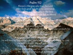 Images for Psalm 112 - Google Search