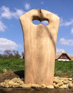 PIETA, oak tree, height 130 cm / PIETA, dub, výška 130 cm / Viva wood art