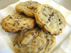 Gooey Chocolate Chip Cookies.. made these last night, the guys loved them!
