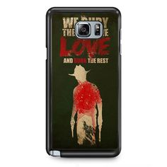 Yhe Walking Dead Bury The One We Love TATUM-12137 Samsung Phonecase Cover Samsung Galaxy Note 2 Note 3 Note 4 Note 5 Note Edge