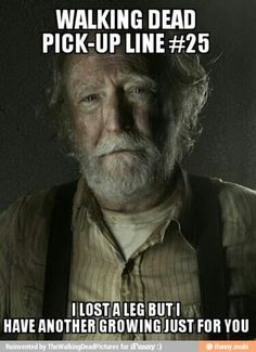 TWD Pick Up Lines