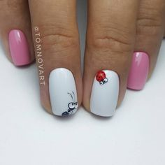Expand style to your nails with the help of nail art designs. Donned by fashion-forward stars, these kinds of nail designs will incorporate immediate elegance to your outfit. 3d Nails, Cute Nails, Pretty Nails, Nail Nail, Music Nails, Nail Polish, Coffin Nails, Spring Nails, Summer Nails