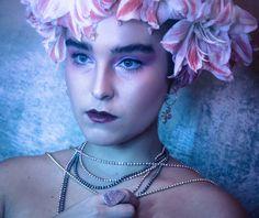 photo-hair-makeup by olivia weigelt jewelry: meshugge Hair Makeup, Chokers, Make Up, Jewelry, Fashion, Moda, Makeup, Jewlery, Bijoux