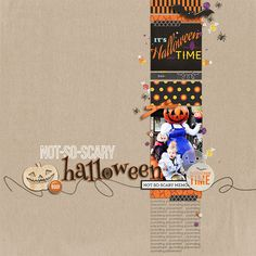 digital scrapbooking layout created by arumrose featuring Project Mouse (Halloween): Bundle by Britt-ish Designs and Sahlin Studio