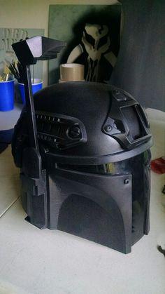 #Mandalorian Tactical Helmet