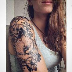 olio.tattoo Geometric Flower Floral Tattoo by Tara from Tattoo Me Charlotte - Charlotte, NC #geometric #flower #floral -- More at: https://olio.tattoo/tattoo-images/mentions:geometric