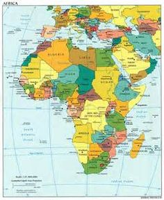 Africa Physical Map of Africa and African Countries Physical Maps