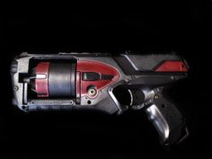 Nerf Strongarm Prop Gun Custom Modified Pro Painted Mass Effect N7 Hellboy Style | eBay