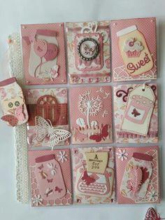 Canning Jar Pink Pocket Letter