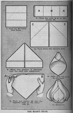 Happy Holidays: Happy Holidays School of Napkin Folding – Day 3