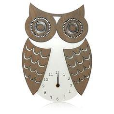 Asda George Home Owl Clock £12