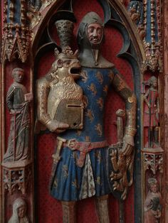 1352 - 'Graf Günther von Schwarzburg-Blankenburg (+1349), antiking of Karl IV', Kaiserdom St. Bartholomäus, Frankfurt am Main, Hessen, Germany by roelipilami, via Flickr