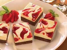 Get Strawberry Cheesecake Brownies Recipe from Food Network