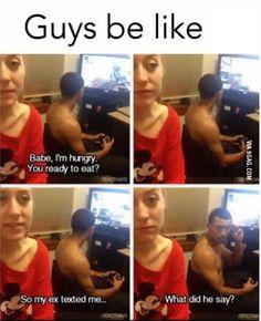 When you have a gamer boyfriend