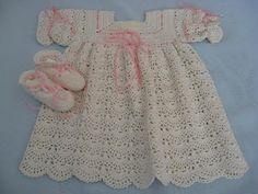easy crochet baby summer dress for girl free pattern