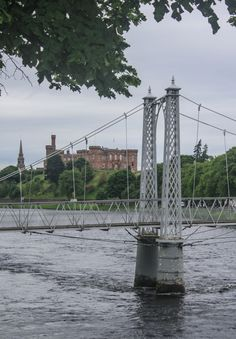 Infirmary Bridge, Inverness, Scotland http://stephentravels.com/top5/bridges/