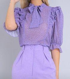 Blouse Styles, Blouse Designs, Girls Fashion Clothes, Fashion Dresses, Sleeves Designs For Dresses, Royal Clothing, Japanese Outfits, Abaya Fashion, Mode Hijab