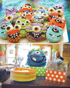 Monster birthday party