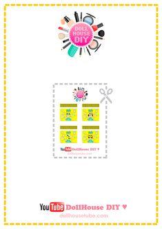 REAL Miniature SPONGEBOB Soap Bubble Tutorial! DollHouse DIY ♥