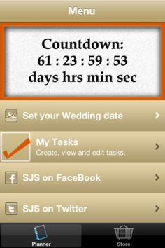 Our app, To Be Wed is the perfect tool for brides looking for wedding planning assistance at their fingertip.