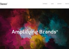 Stereo | CSS Website