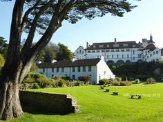 Caldey Abbey on Caldey Island - Pembrokeshire