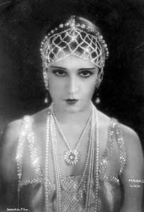 Silent Movie Star Lilly Damita