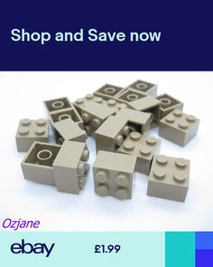 Lego BRICK 1x1 DARK BLUISH GREY New 3005 Qty 50