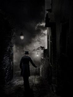 Victorian street. (Sawyer Westbrook)..if only I could have the prints of all the awesome stuff I find on Pinterest..