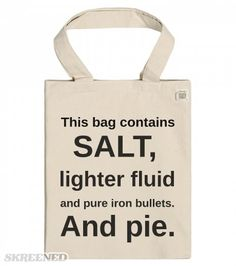 Aye a hunter's life for me! Printed on EcoBag Recycled Cotton Tote with Pocket