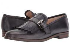 Massimo Matteo Kiltie with Buckle (Black) Women's Shoes